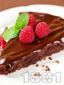 Шоколадов сладкиш с малини - снимка на рецептата